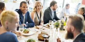 Networking over lunch