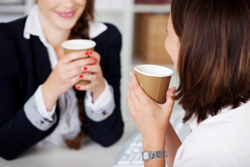 Networking over coffee